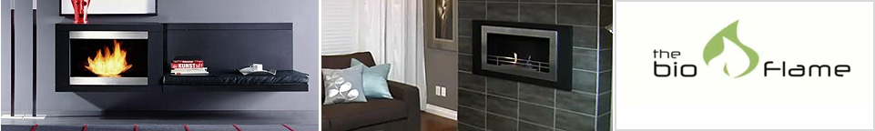 BioFlame Ethanol Fireplaces